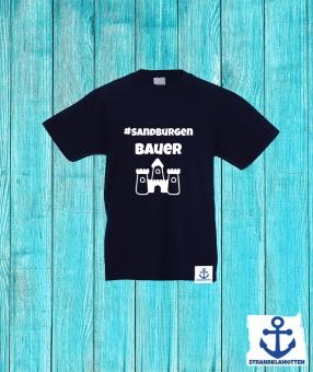Sandburgenbauer Kinder Shirt