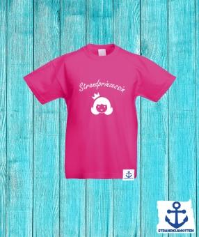 Strandprinzessin Kinder Shirt 104   Pink